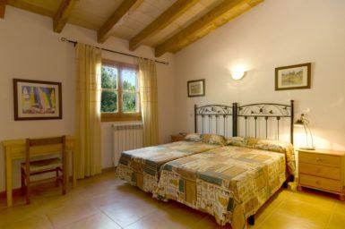 Finca Sa Caseta - Schlafzimmer mit Zentralheizung