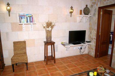 Sat-TV im Wohnbereich Stadthaus Antonio