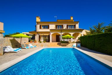 Villa Mallorca am Meer für 10 Personen