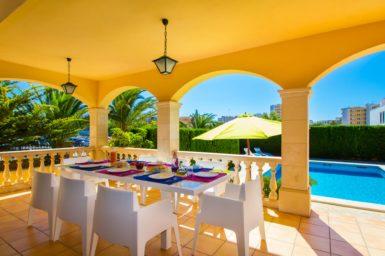 Villa Mallorca für 10 Personen