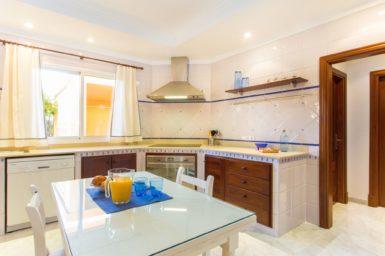 Küche Villa Ca Nostra
