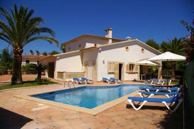 Villa Mallorca am Meer in Sa Coma