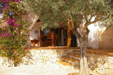Villa Colom - Aufgang zur Terrasse