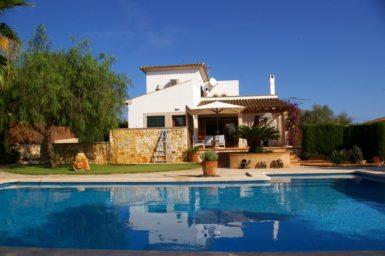 Villa Mallorca mieten 8 Personen