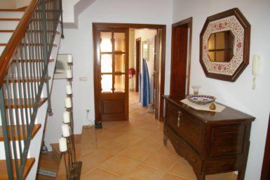 Villa Colom - Zugang ins Wohnzimmer
