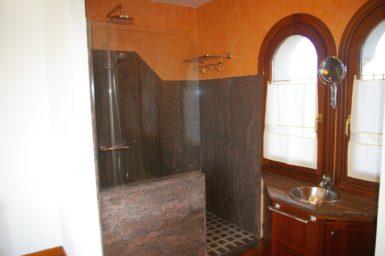 Villa Colom - offenes Bad mit Dusche