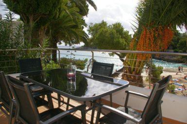 Ferienhaus Playa Dor - Terrasse mit Meerblick