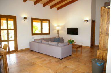 Finca Sa Tortuga - Wohnbereich