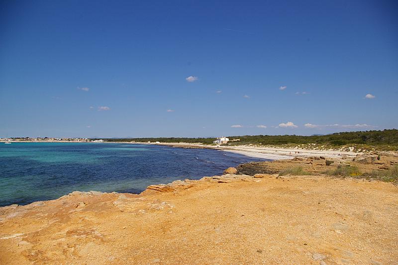 Strand Cala Pi im Süden von Mallorca