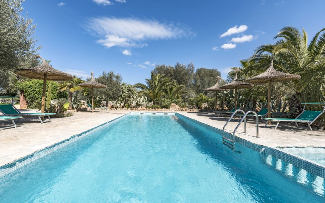 Finca Apartment mit Pool