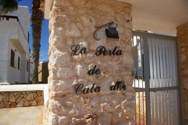 Eingang in die Ferienhausanlage