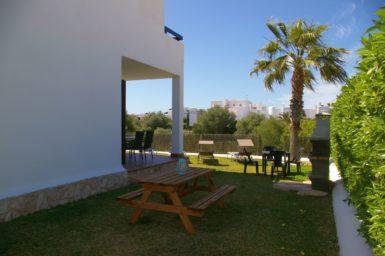 Privater Garten vom Ferienhaus