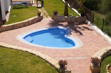 Kinderfreundliches Ferienhaus mit Pool