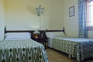 Doppelschlafzimmer mit Einzelbetten