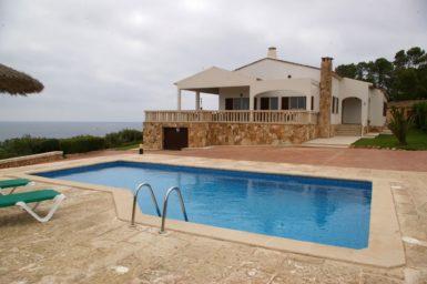 Villa in erster Meerlinie auf Mallorca