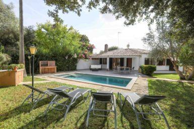 Ferienhaus mit privaten Pool