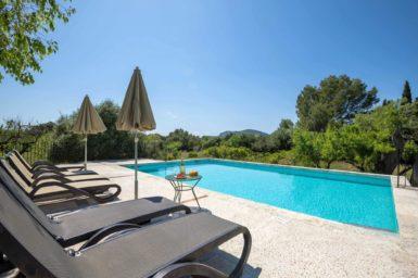 Kindersicherer Pool - Finca Urlaub Mallorca