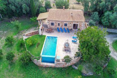 Luftaufnahme der Finca Son Barrigo