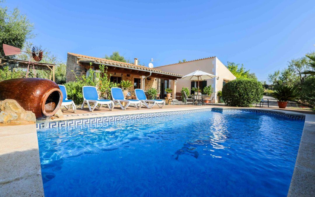 Finca mit Pool im Norden von Mallorca