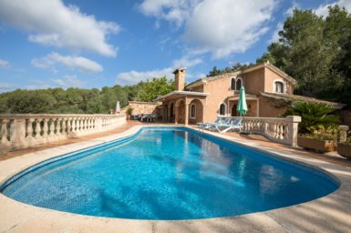 Finca mit Ausblick auf Mallorca