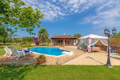 Finca nahe Sineu auf Mallorca