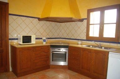 Die Küche der Finca