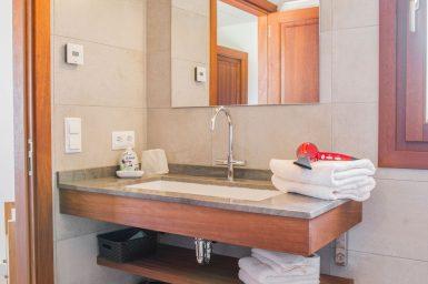 Bad en Suite mit Dusche