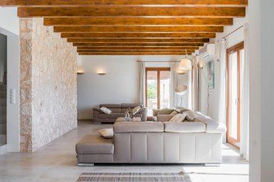 Wohnbereich der Finca