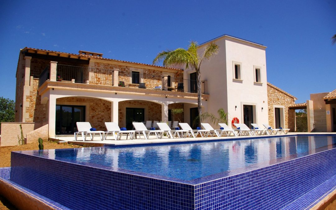 Finca Mallorca mit Meerblick